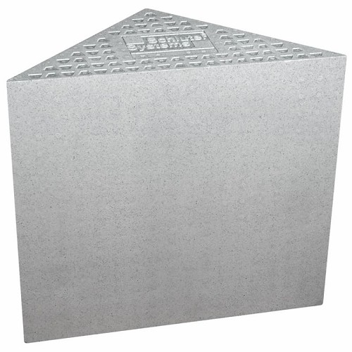 Schluter Kerdi-Shower Triangular Bench | 16x16x20 inch | Code: SB41