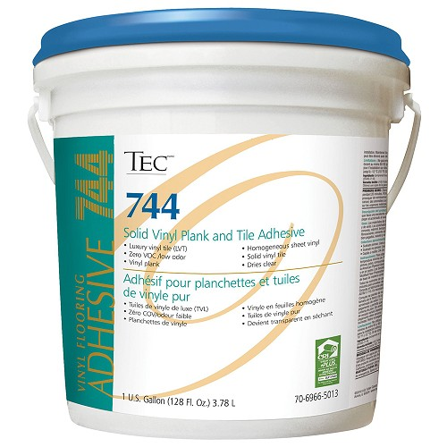 TEC Solid Vinyl Plank and Tile Adhesive. 1 Gal.  | Solid Vinyl Adhesive | Code: TA744G